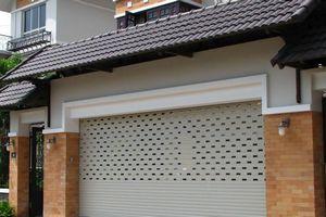Lắp đặt cửa cuốn khe thoáng cho biệt thự tại Lê Hồng Phong- Hải Phòng.